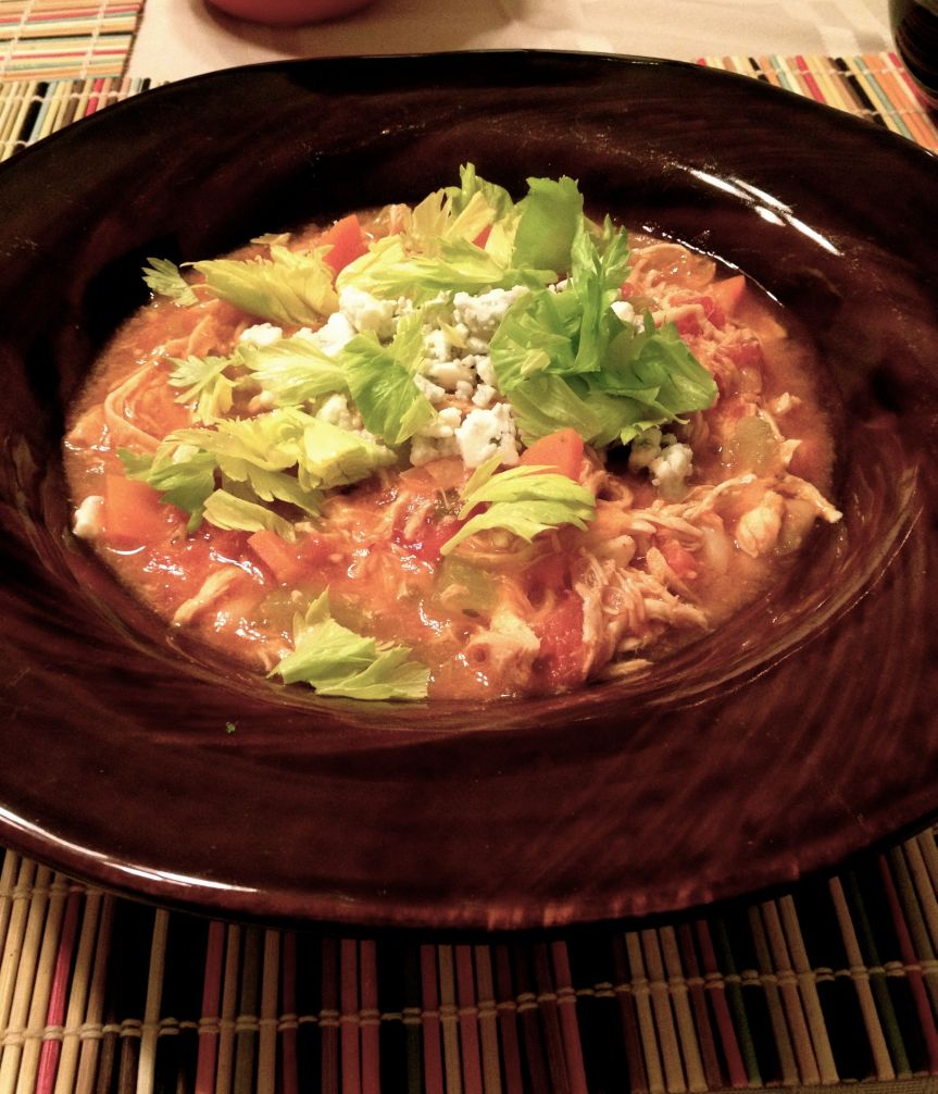 Buffalo Chicken Chili: Flavors that Remind me of Home
